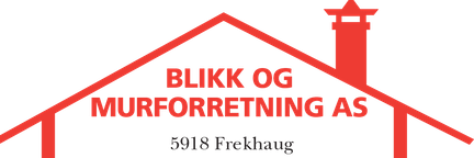 Logo av Blikk og Murforretning AS